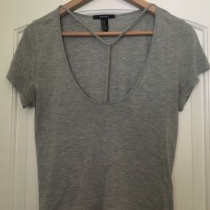 Strappy Crop Tee